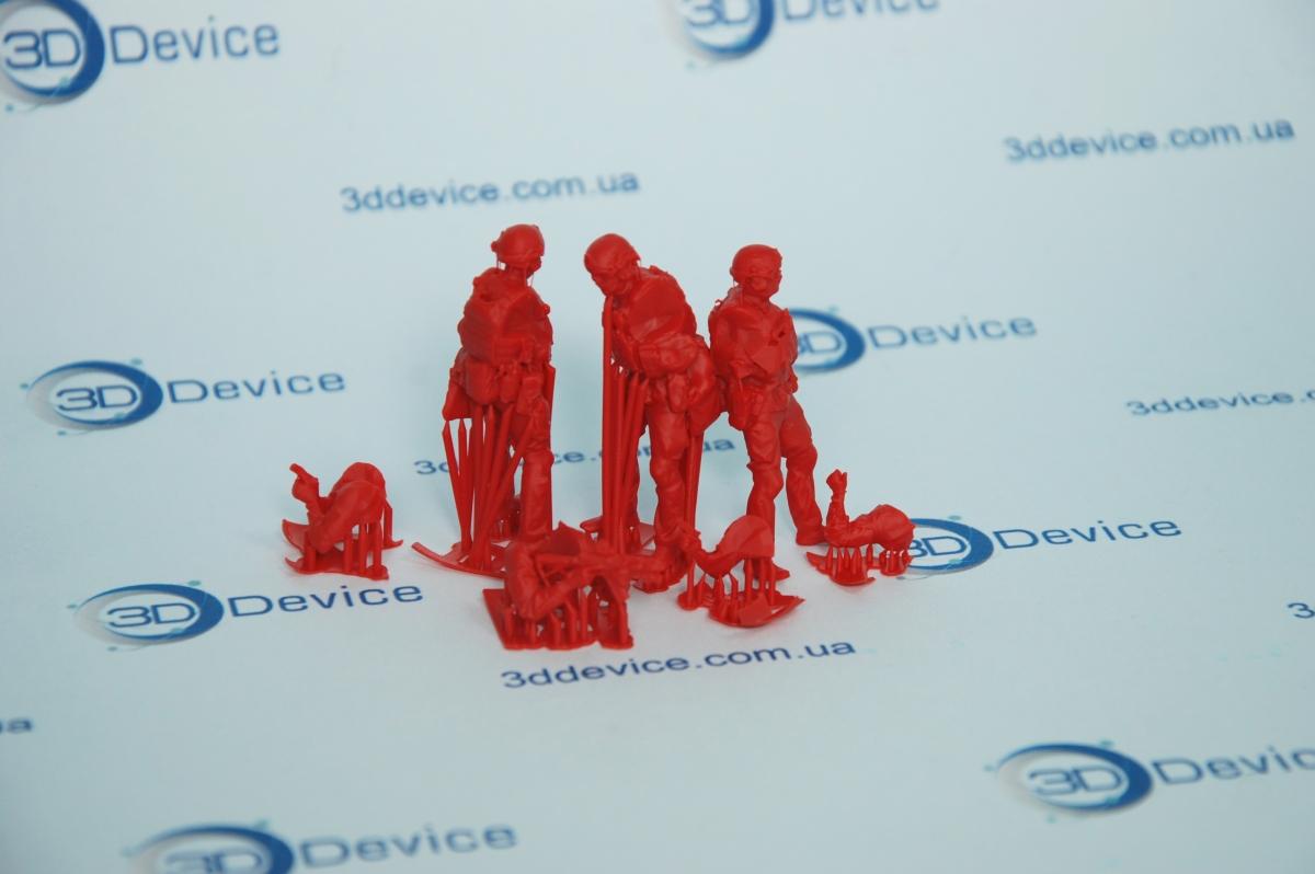 3Д печать миниатюрных изделий