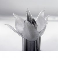 Цветок на SLA 3D принтере Formlabs