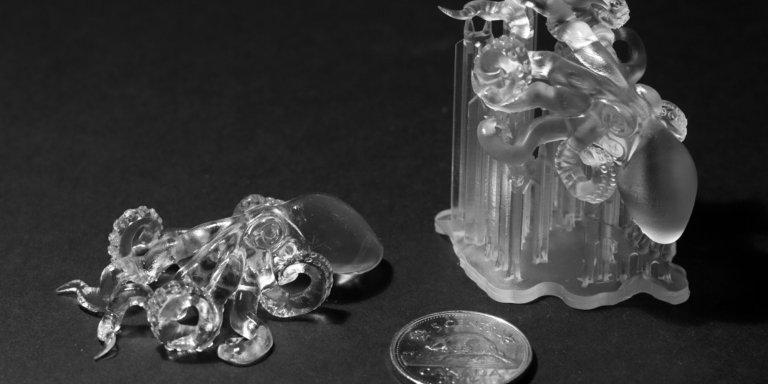 Технология SLA смола Formlabs Clear Resin