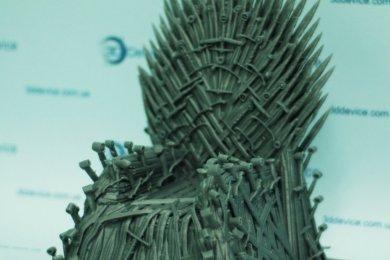 3D печать игра престолов