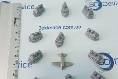 партии деталей на 3D принтере