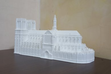 макет на 3д принтере