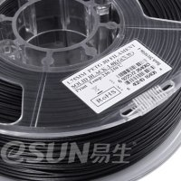 Котушка 3D пластика eSUN PETG Solid black