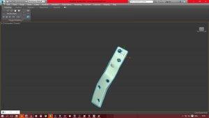 Титановая пластина на 3D принтере