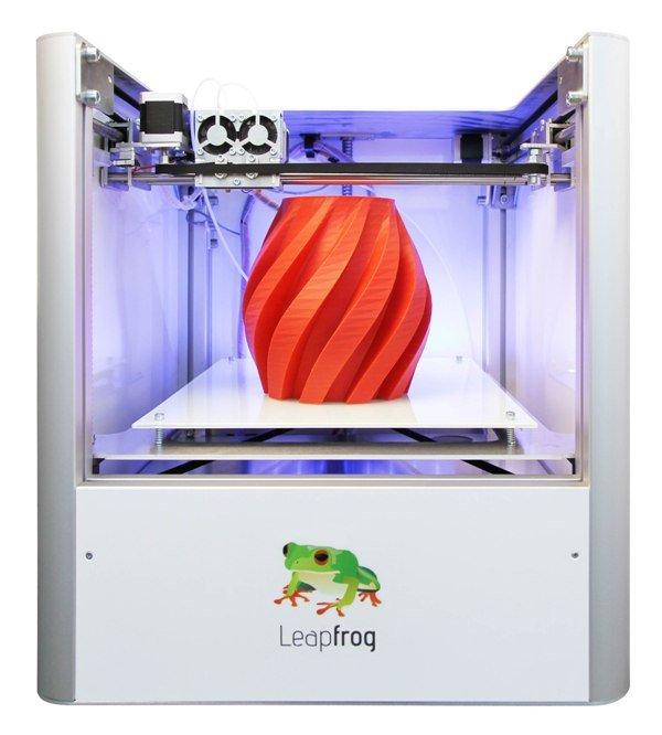 3D ПРИНТЕР LEAPFROG CREATR 2H (Б/У)