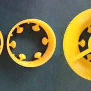 Сделано на 3D принтере Raise3D N2 Plus