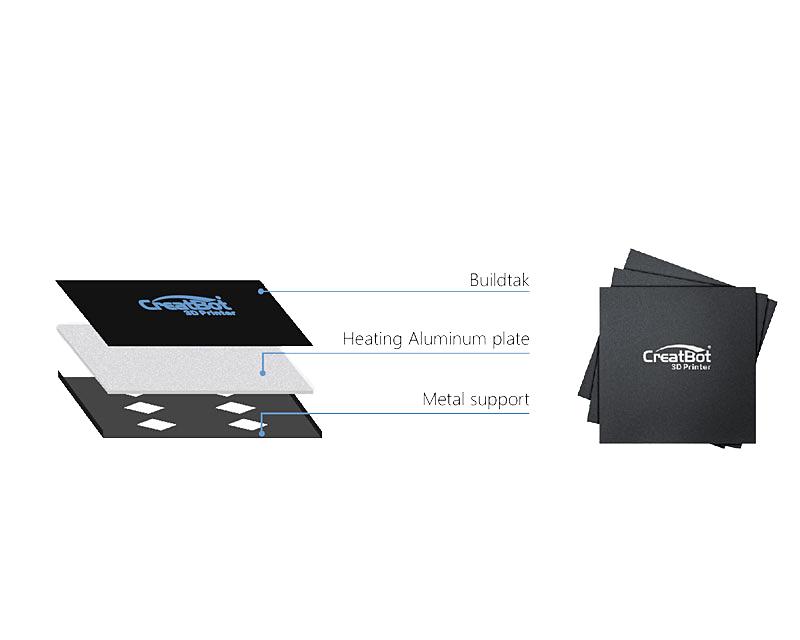 3D принтер CreatBot F160 платформа