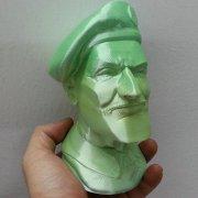 Объемная голова на 3Д принтере Winbo Super Helper