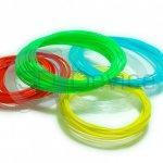 Разноцветный пластик для 3D ручки в Украине