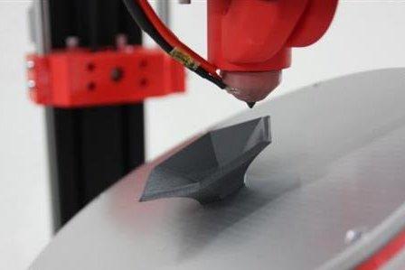 Разработан 3D принтер с шестью осями