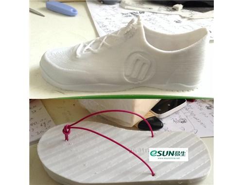 Сделано из 3D пластика eSUN eLastic