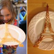 Сделано на 3D принтере PancakeBot