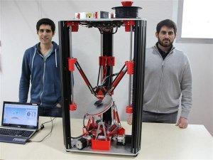 Студенты из Цюриха создали 3D принтер с шестью осями