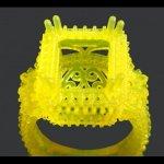 Фотополимер для ювелиров B9 Yellow Resin - печать