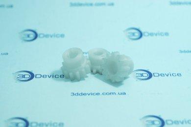 Шестерни из 3Д пластика ПЭТ