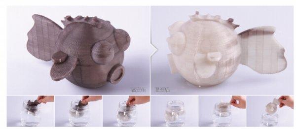 3D пластик eSUN COLOR-CHANGING - напечатано на 3D принтере