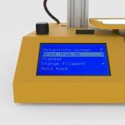3D принтер WINBO Super Helper панель управления