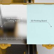 3D принтер WINBO Super Helper рабочая панель