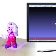 3D-сканер EinScan-Pro в работе