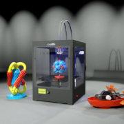 Купить 3Д принтер CreatBot DM
