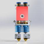 Экструдер 3D принтера CreatBot DM