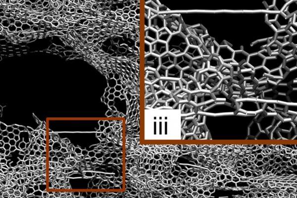 3D графен структура