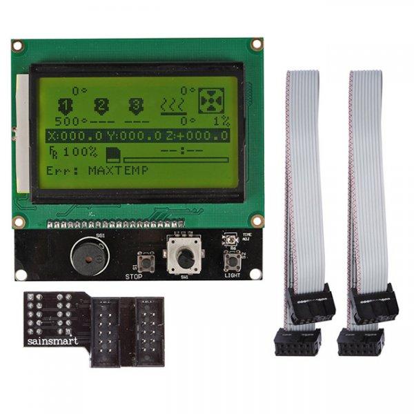Графический дисплей 12864 LCD MKS с картридером