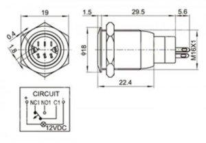 Кнопка для включения 3D принтера схема