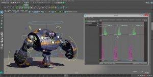 Анимация в программе Autodesk Maya