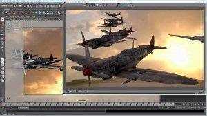 Визуализация в программе Autodesk Maya