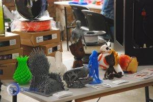 Выставка 3D технологий экспонаты 3DDevice