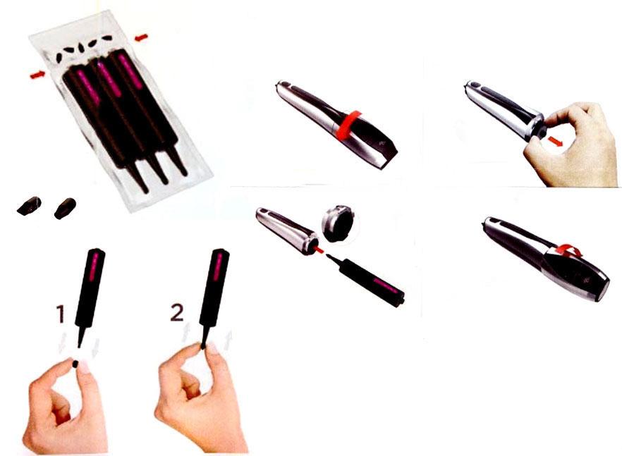 Купить кардриджи для 3D ручки CreoPop замена
