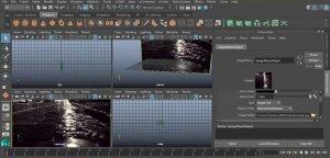 Моделирование жидкости в Autodesk Maya