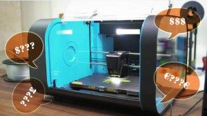 Сколько стоит 3Д принтер