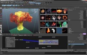 Спецэффекты в Autodesk Maya
