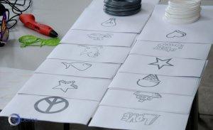 Шаблоны для 3D ручки