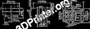 силовой блок 3D принтера схема