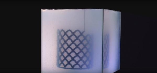 3Д печать мебели в гидрогеле