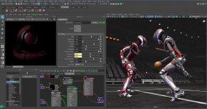 Autodesk Maya инструменты анимации