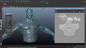 Autodesk Maya и UV-маппинг