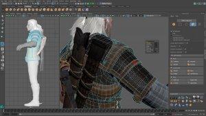 Autodesk Maya полигональное моделирование и текстурирование
