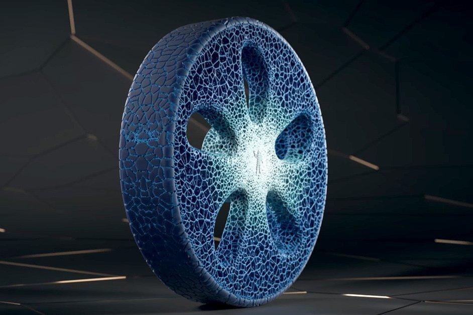 Безвоздушные шины на 3D принтере