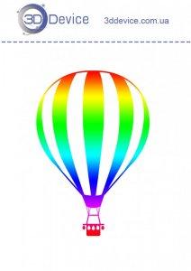 Воздушный шар трафареты для 3D ручки