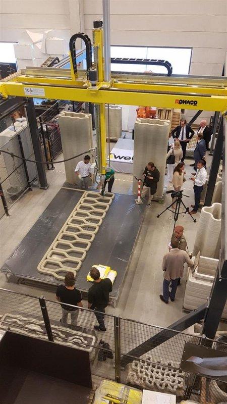 В Нидерландах строят мост на 3D принтере