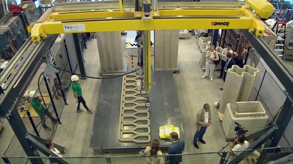 Голландский мост на 3D принтере