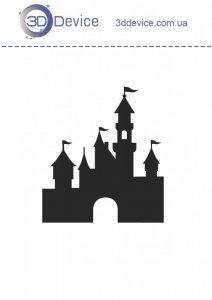 Замок трафареты для 3D ручки