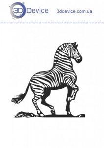 Зебра трафареты для 3D ручки