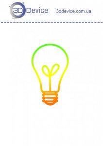 Лампочка трафареты для 3D ручки
