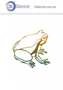 Шаблоны для 3D ручки лягушка