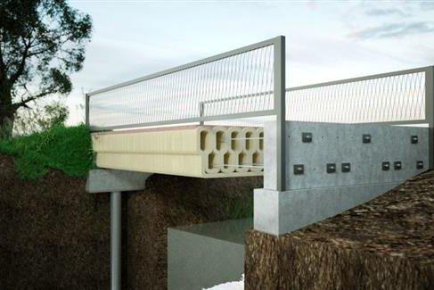 Мост на 3D принтере для велосипедистов Голландии